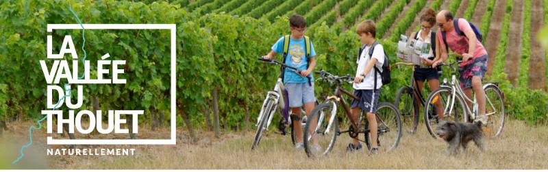 Le tourisme à vélo dans la vallée du Thouet