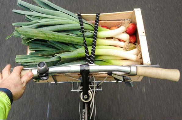 Trois moyens de faire ses courses à vélo