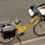 La poste et le vélo