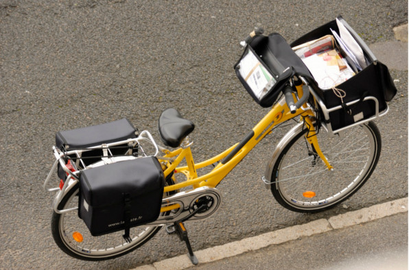 La poste et le vélo, toute une histoire