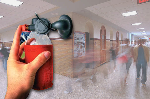 Des cornes de brume pour les préventions attentats dans les écoles