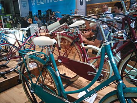 Vélos en exposition à l'Eurobike 2016