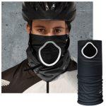 Accessoires pour rouler en vélib : foulard anti-pollution et pollen