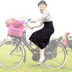 Jupe imperméable pour cycliste en vélib