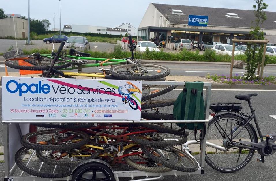 Local de Calais d'Opale vélo Services