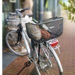 Grand panier de vélo avec protection cadenas