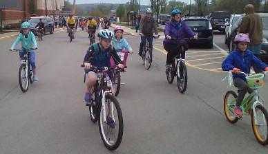 Apprentissage de la mobilité à vélo