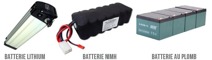 Batterie pour VAE