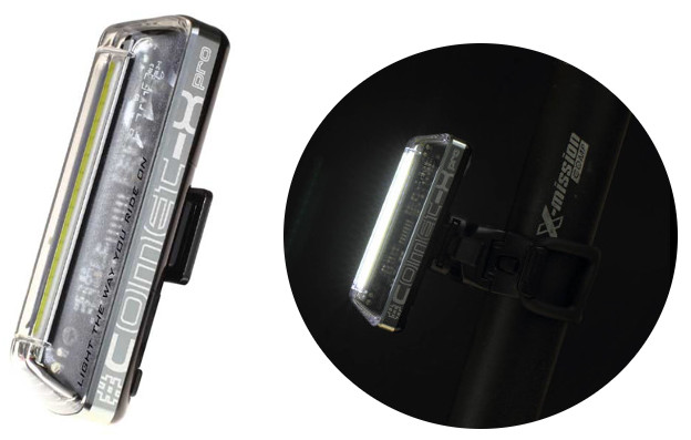 Eclairage vélo innovant Comet X-Pro Moon