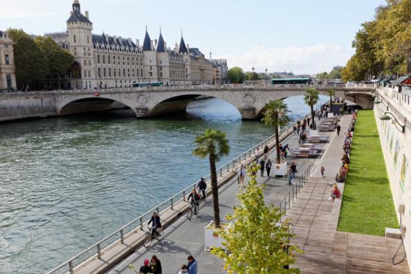 La piétonnisation des voies sur berge à Paris