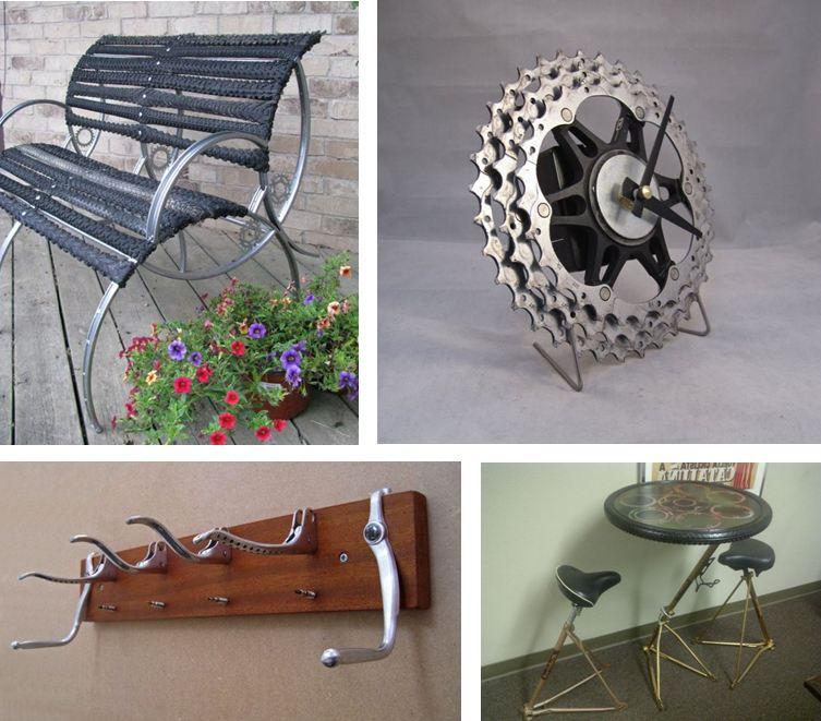 Donner une seconde vie aux pièces de vélo