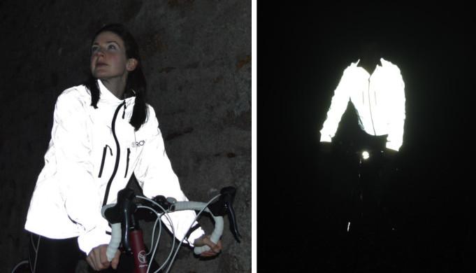 Veste cycliste réflechissante visibilité 360° Proviz Reflect360