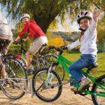 Follow Me attelage vélo parent et enfant