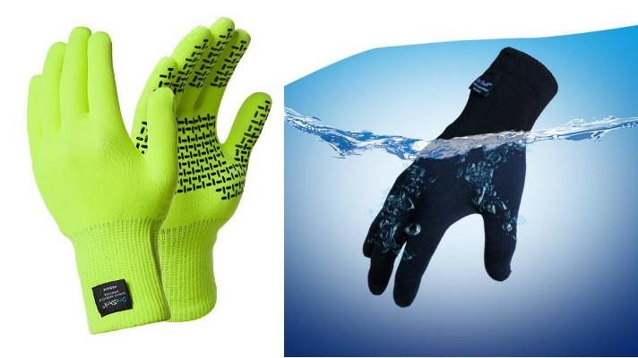gants-jaunes-fluo-pour-cyclistes-impermeables-touchfit-dexshell