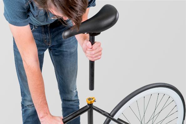 Quelles sont les possibilités pour monter une selle sur un vélo ?