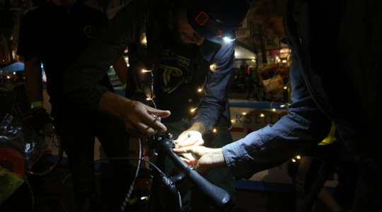 Sensibiliser les cyclistes pour leur sécurité