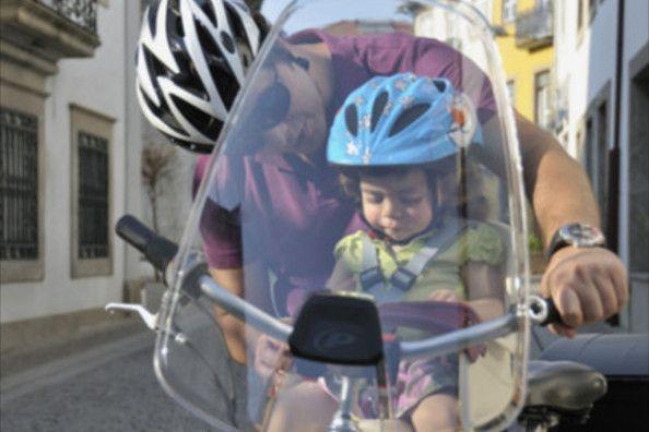 Les avantages d'un pare-brise à vélo