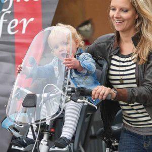 Pare brise Polisport pour la protection de bébé à vélo