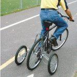 Petites roues stabilisatrices pour vélo adulte