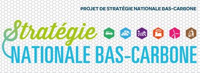Projet de stratégie nationale bas-carbone