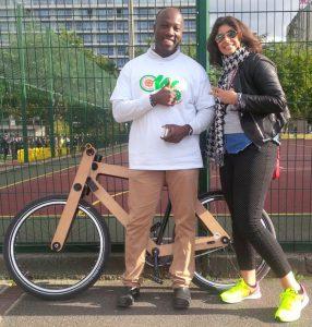 WAW : laisser son vélo à un gardien