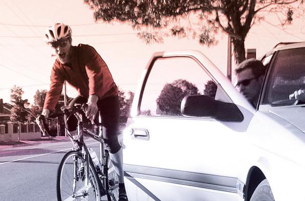 Les r flexes pour ouvrir sa porti re sans risque pour les cyclistes - Ouvrir une porte de voiture ...