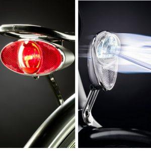 Feu clignotant arrière légal à vélo