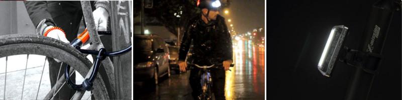 Antivols, casques et éclairages, le matériel pour la sécurité à vélo