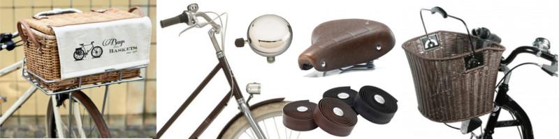 Tout le matériel pour customiser un vélo au look rétro