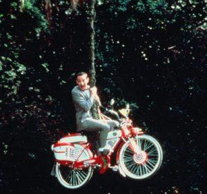 PeeWee Herman et son vélo