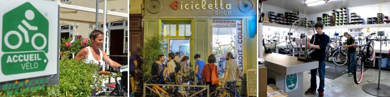 Les témoignages et interview des professionnels et amoureux du vélo