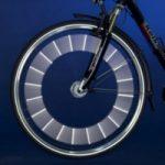 Barrettes à installer sur roue de vélo