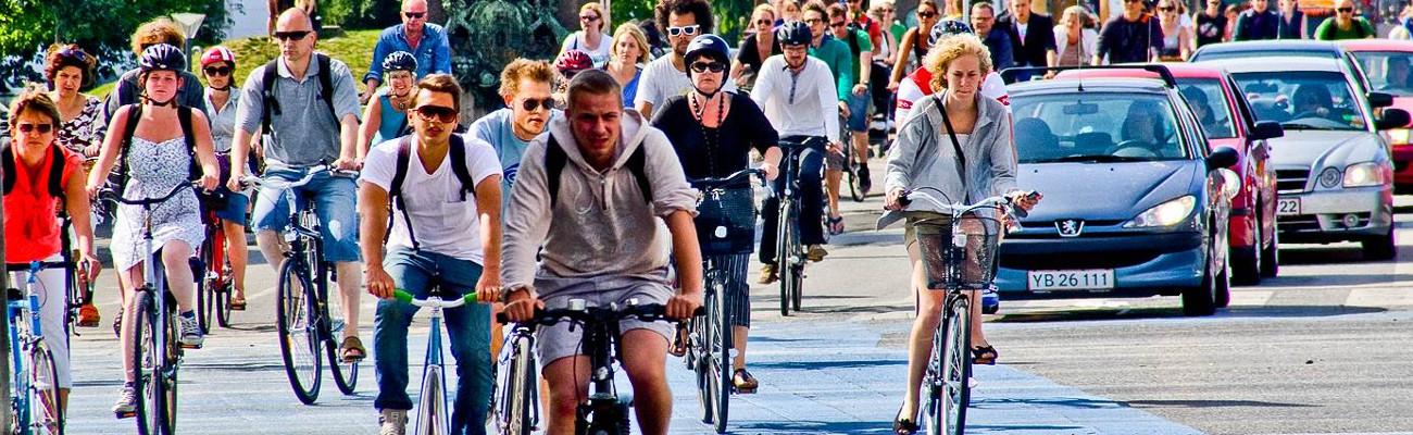 Copenhague : les vélos plus nombreux que les voitures
