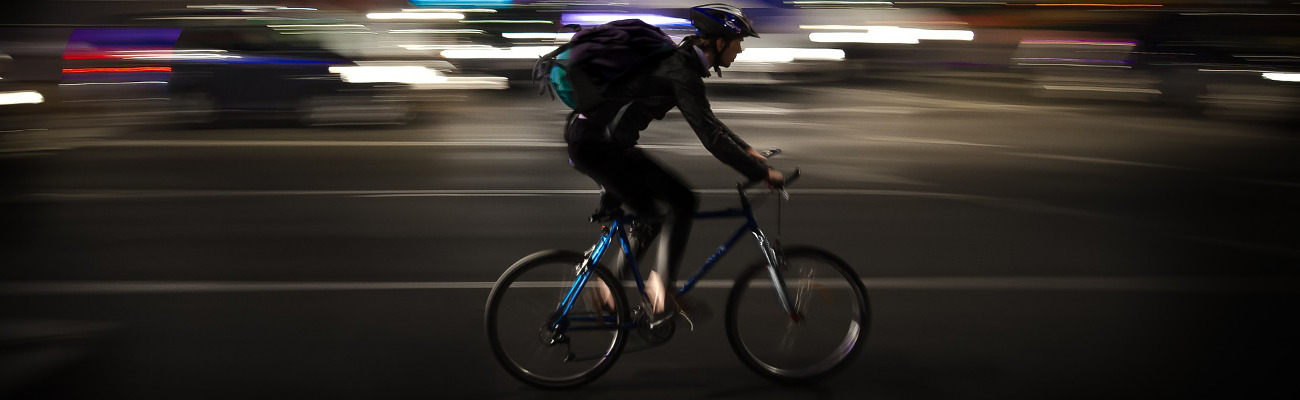 La livraison se fait de plus en plus à bicyclette