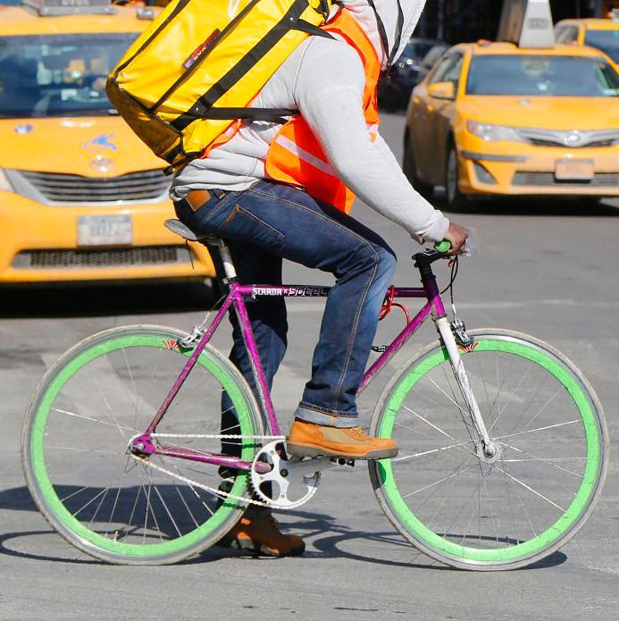Livraison vélo en ville