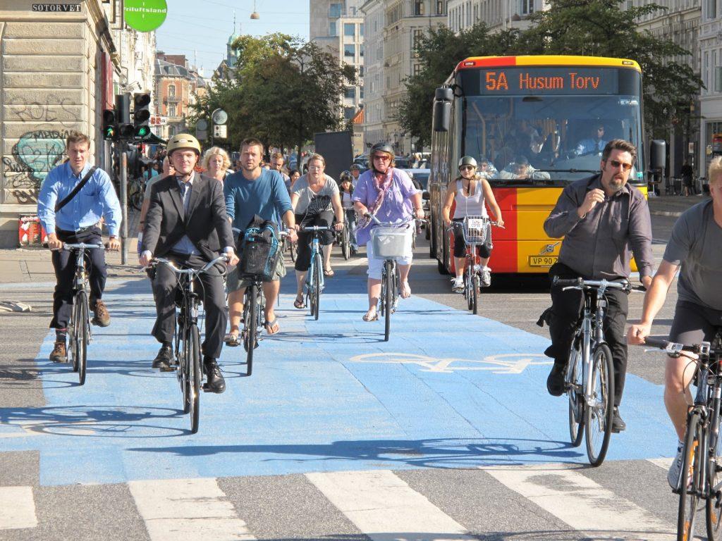 piste cyclable vélo au Danemark
