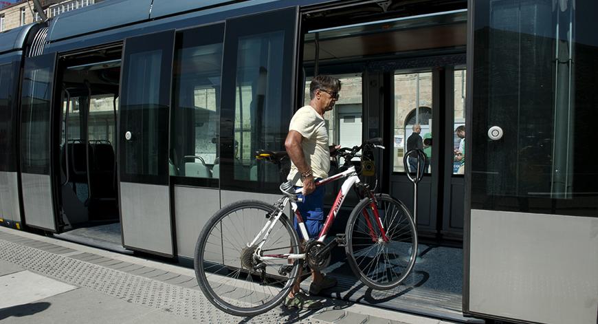 Plan vélo à Bordeaux