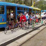 Prendre le tram avec son vélo