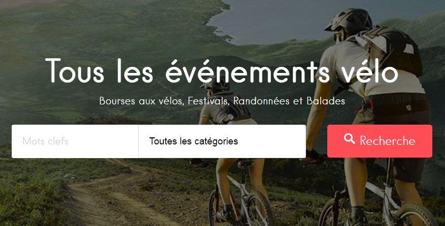 Trouver un événement vélo sur Citycle