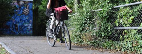 Faire du vélo en Suisse