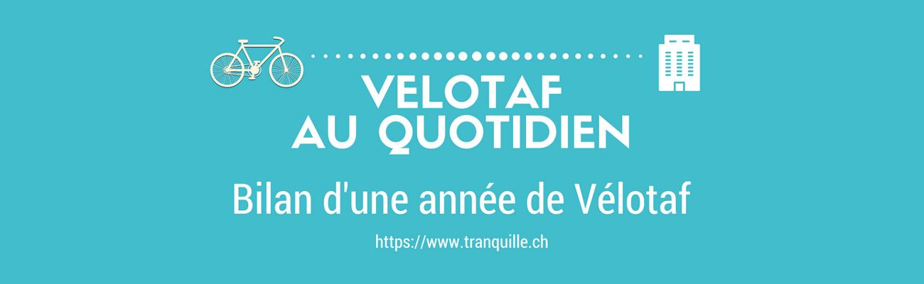 Pour Mr Tranquille, le «vélotaf se fait à 100%, sans alternance aucune»