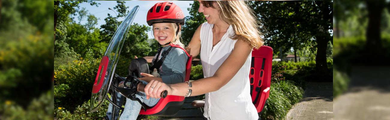 Bobike, une référence pour le transport des enfants à vélo