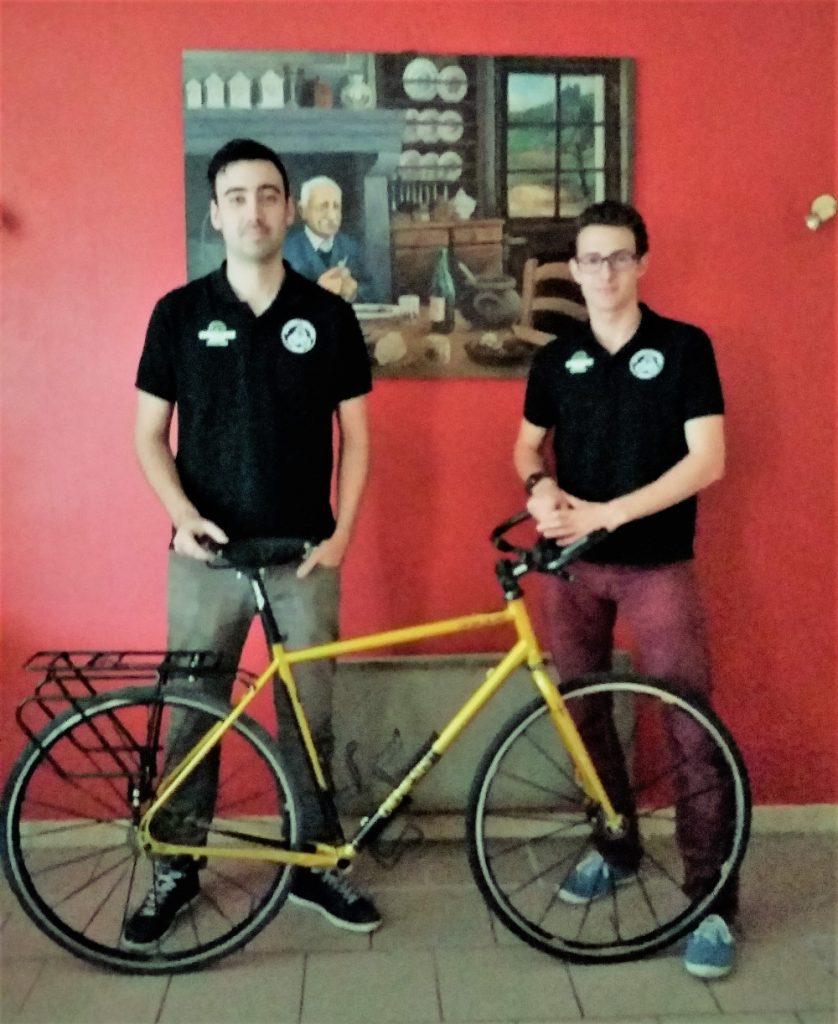 Les Bikes Trotters Romain et Jean-Baptiste