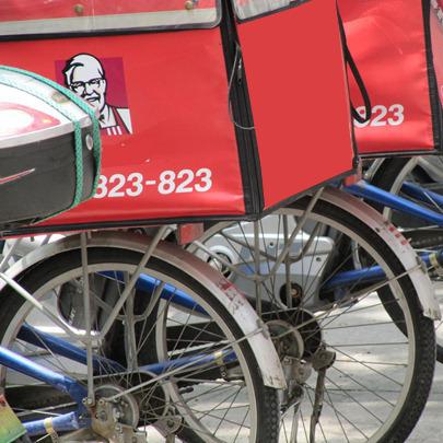 La livraison à vélo en plein boom