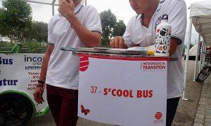 Pour promouvoir au maximum l'usage des vélo-bus