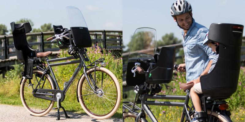 Bobike Exclusive siège vélo pour enfant