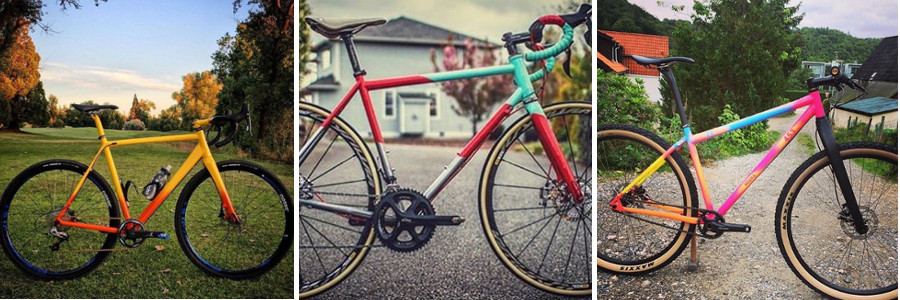 Peindre un vélo avec la peinture spray bike