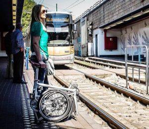 Vélo pliant électrique Ahooga