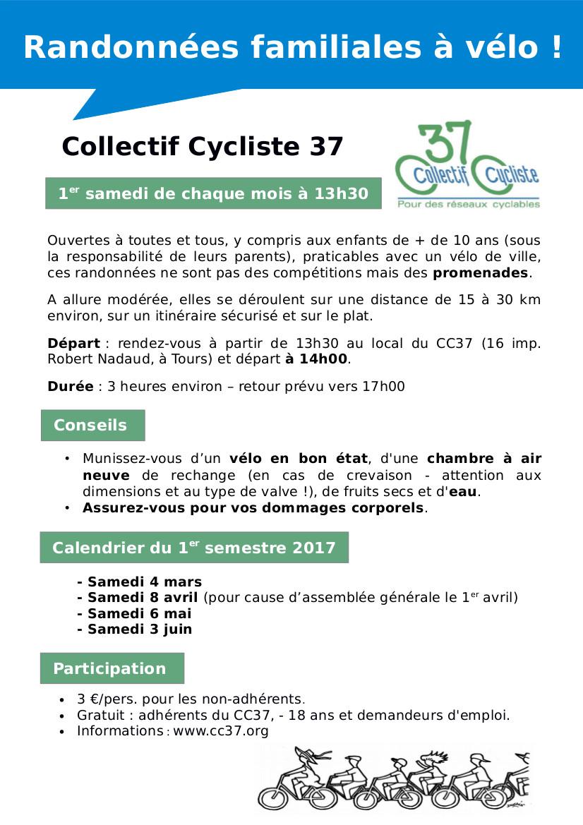Collectif Cycliste 37 et ses rando vélo