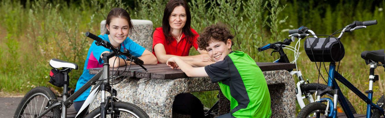 Création de la première aire de repos pour cyclistes dans le Val de Marne